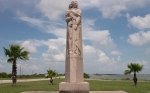 La Salle Monument at Indianola
